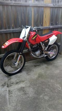 Honda XR250R - www bikesales com au