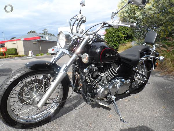 2011 Yamaha V-Star XVS650 Custom available at Central Coast