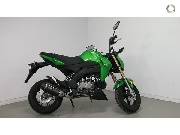 2017 Kawasaki Z125 PRO (BR125J) available at Whitehouse Motorcycles