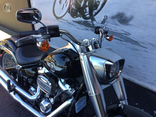2018 Harley-Davidson Fat Boy 114 (FLFBS) available at Gasoline Alley