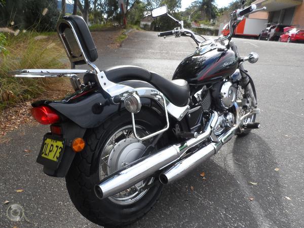 2011 Yamaha V-Star XVS650 Custom available at Central Coast
