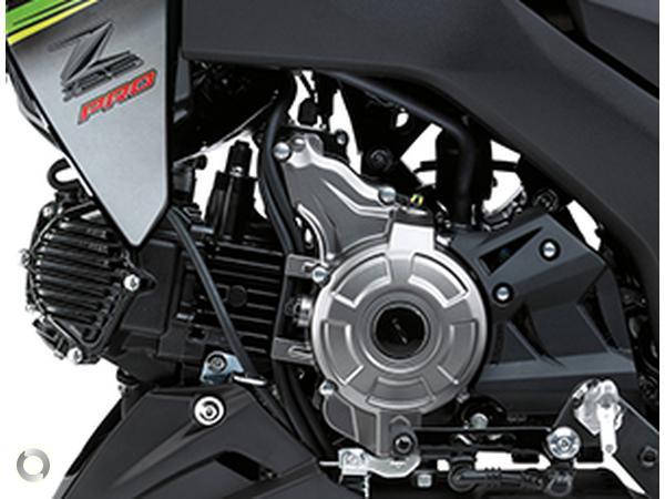 Sunstate Motorcycles - 2018 Kawasaki Z125 PRO KRT Replica